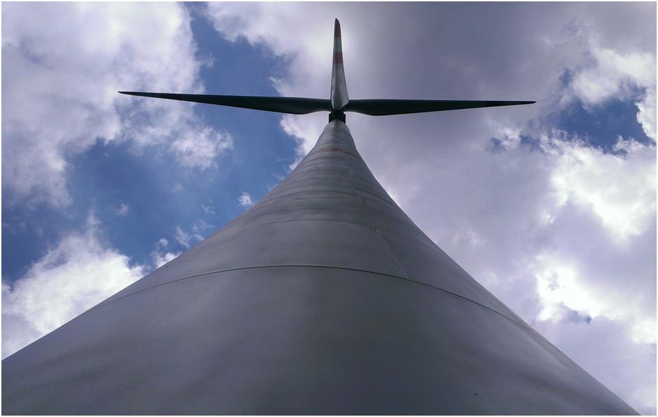 Turmfreigang Windenergieanlage